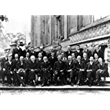 1927 Solvay Conference on Quantum Mechanics Physics Albert Einstein Marie Curie Poster Photo Historical Posters 12x18