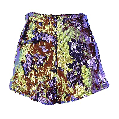 Arsimus Reversible Sequins Shorts at Women's Clothing store