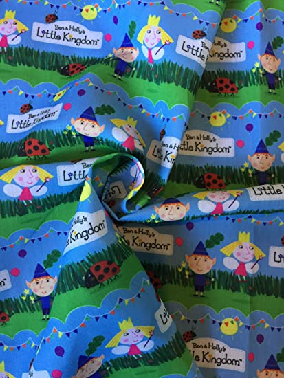 """Ben and Holly Ribbon 1/"""" Wide NEW UK SELLER FREE P/&P"""