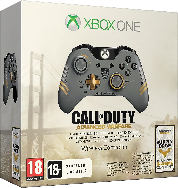 Microsoft - Mando Inalámbrico, Edición Call Of Duty: Advanced Warfare (Xbox One): Amazon.es: Videojuegos
