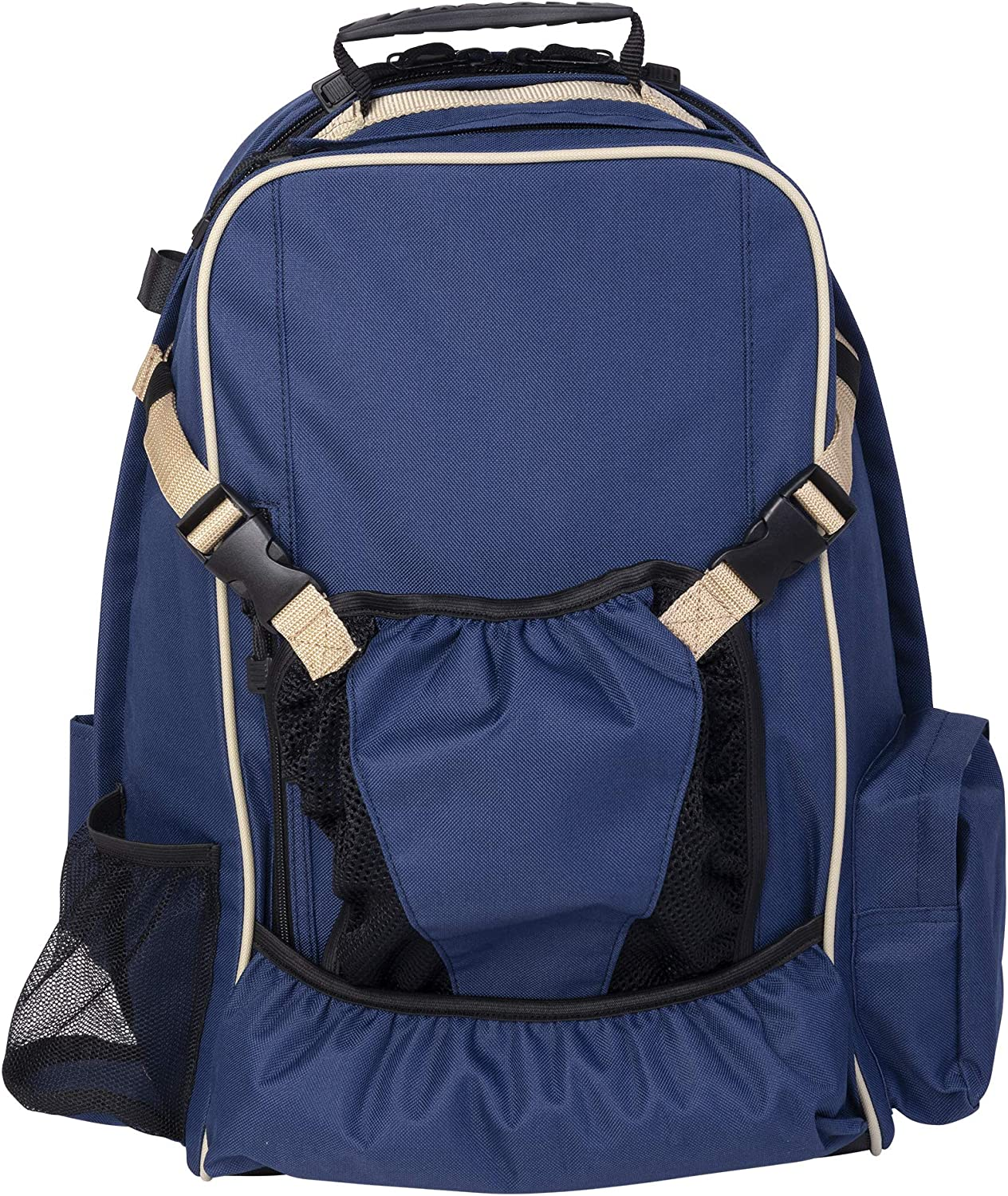 Huntley Equestrian Back Pack Navy Blue