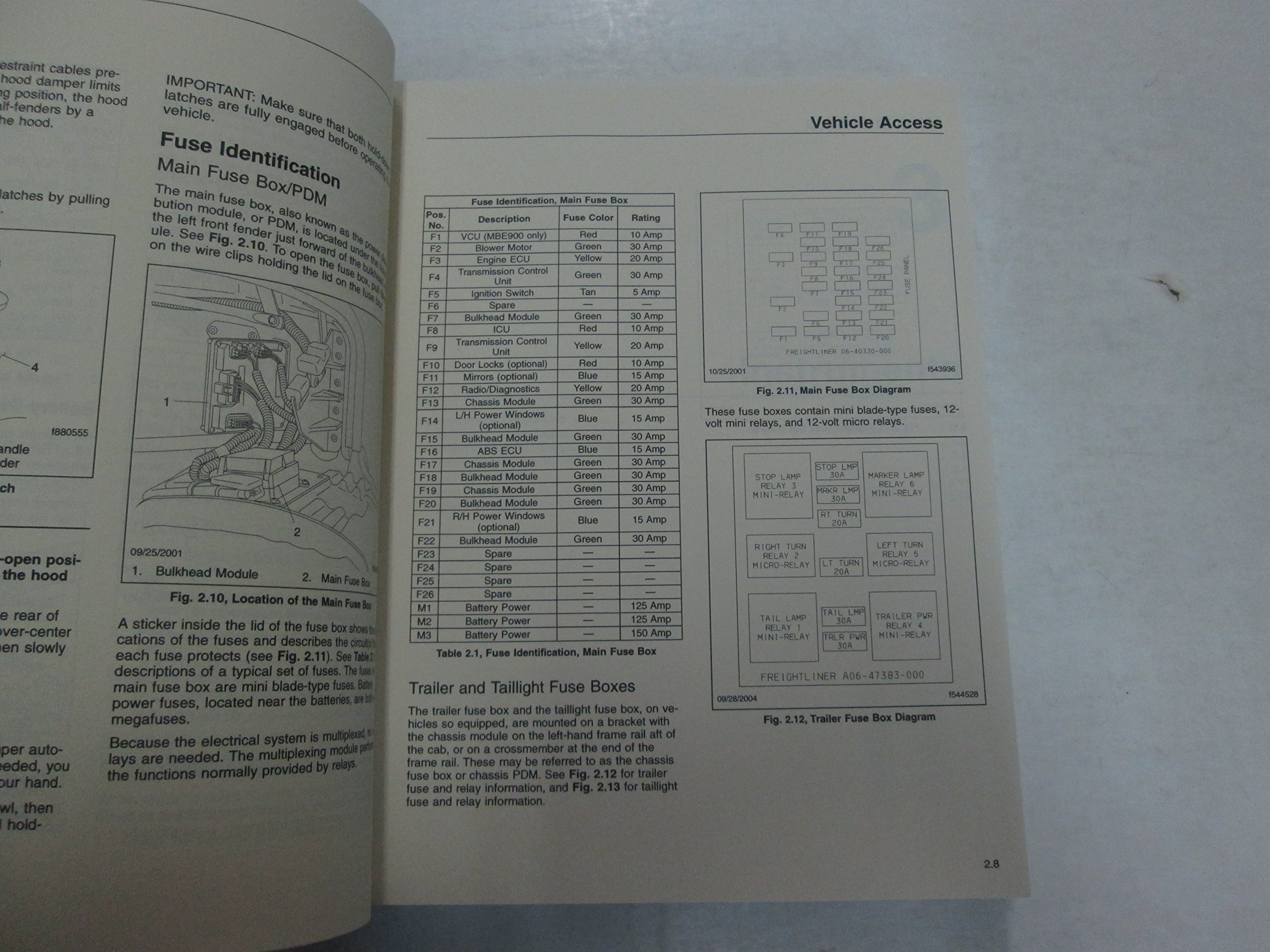 Freightliner Business Class M2 Driver's Manual and