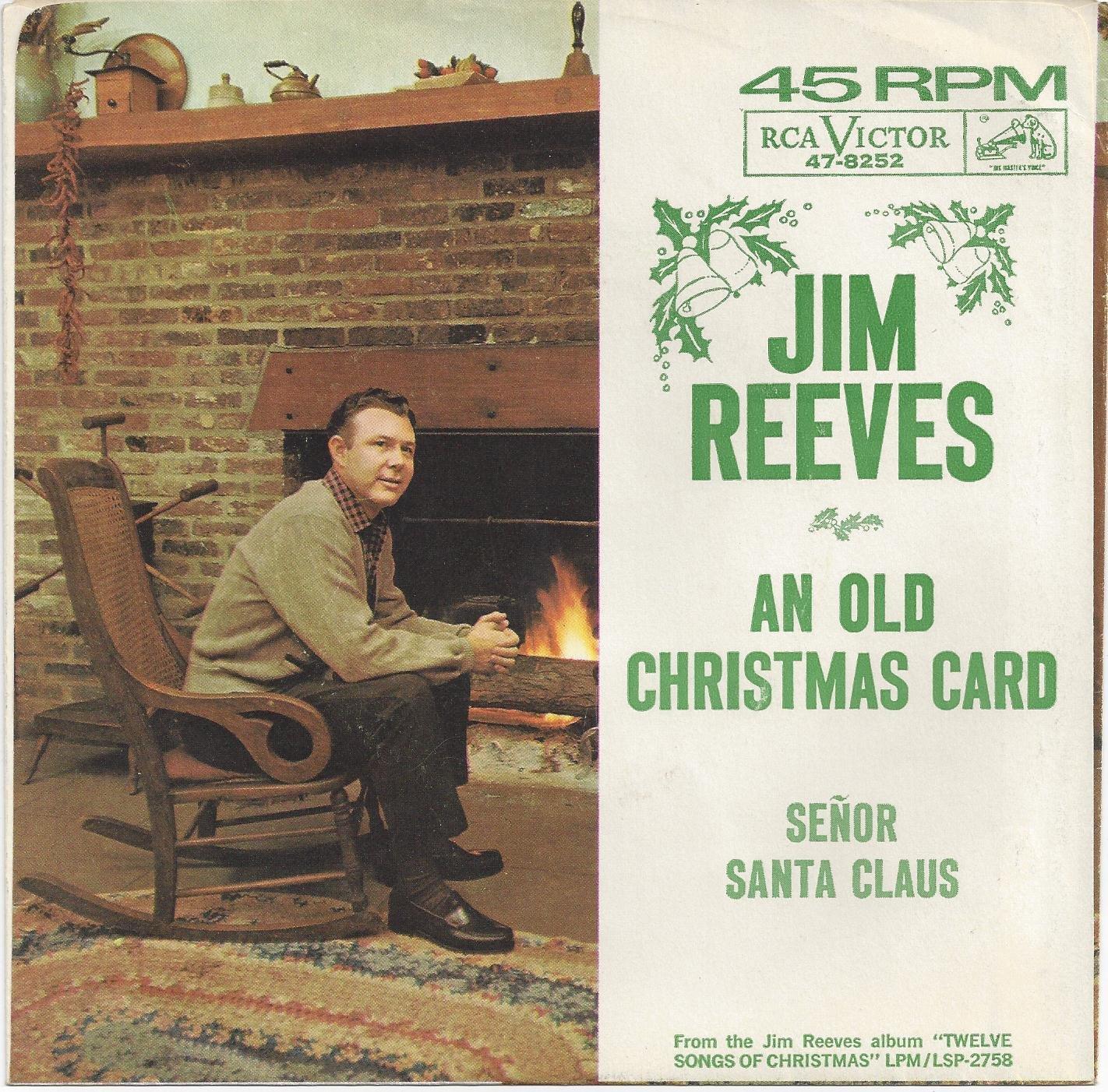 Jim Reeves - An Old Christmas Card / Senor Santa Claus - Amazon.com ...