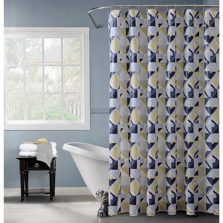 Amazon Com Bath Bliss Shower Curtain Multi Home Kitchen