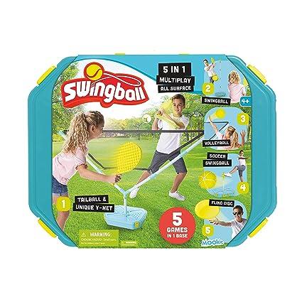 Amazon.com: Juego de balones 5 en 1 para jugar al aire libre ...