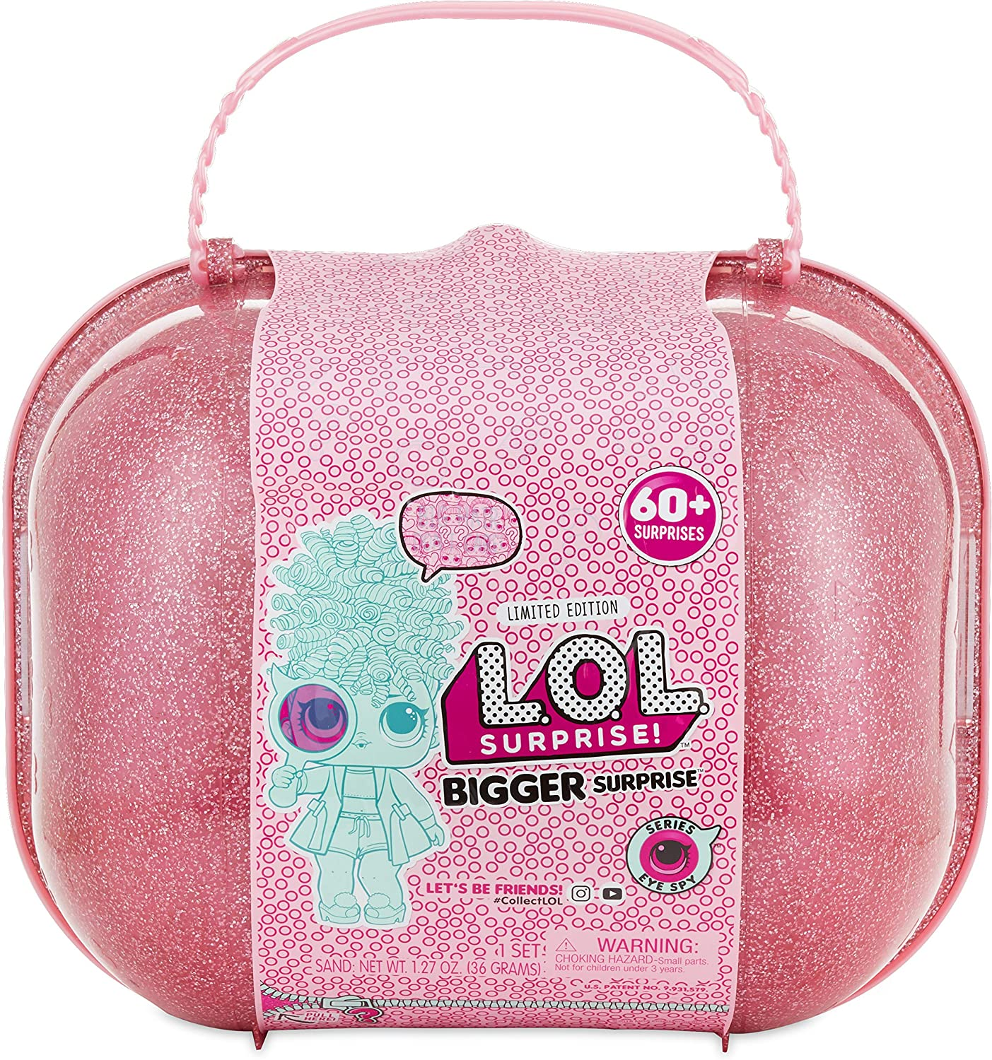 Big L.O.L Surprise Storage Toy Chest Toy Box Holder Case Stores All Toys Lol