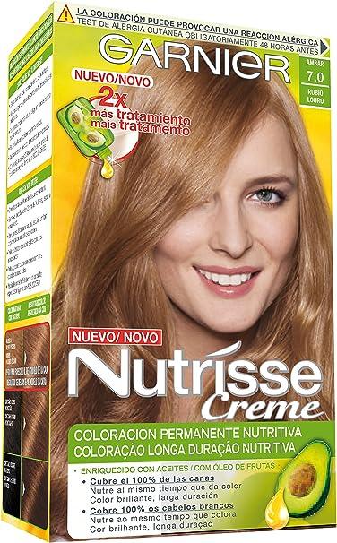 Garnier Nutrisse Coloración, Tono 70 Ble Ambre - 70 ml ...