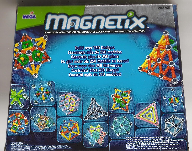 Magnetix 70 Count - Metallic Gold: Amazon.co.uk: Toys & Games