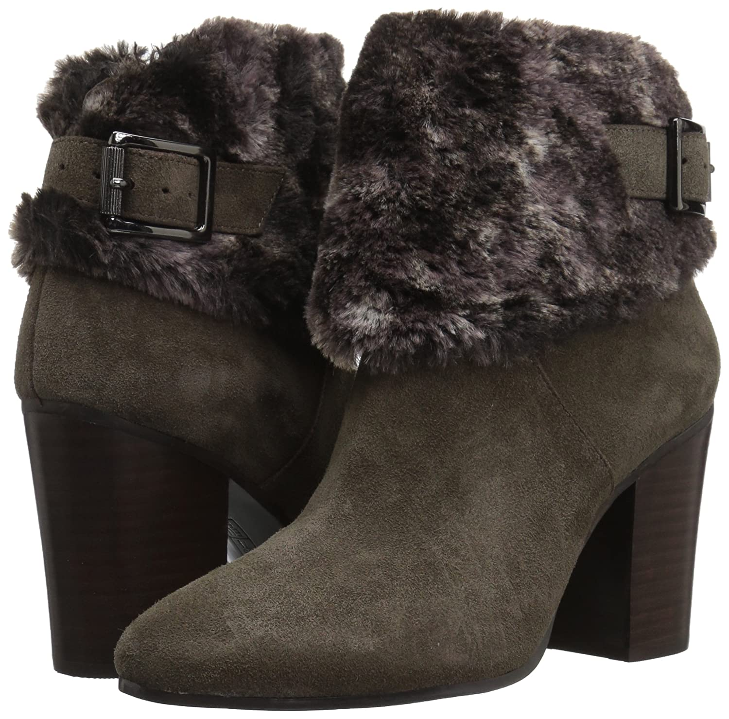 Aerosoles Women's North Square Ankle Boot Suede B074GZDBLH 7.5 B(M) US|Taupe Suede Boot ebf478