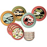 Camp Casual (Cc 001) 12 Piece Dish Set