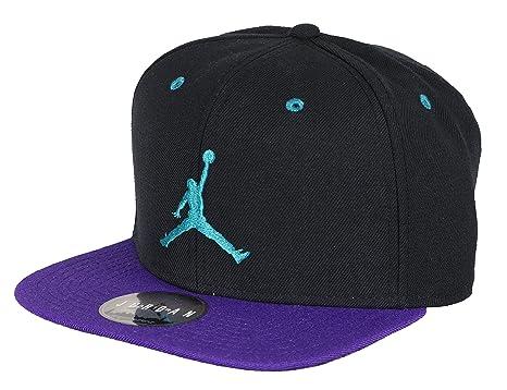 52ec218ea1c239 ... new zealand jordan mens jumpman snapback cap one size black purple teal  fbc7c bee01