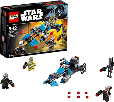 LEGO Star Wars - Pack De Batalla Speeder Bike De Bounty, Juguete ...