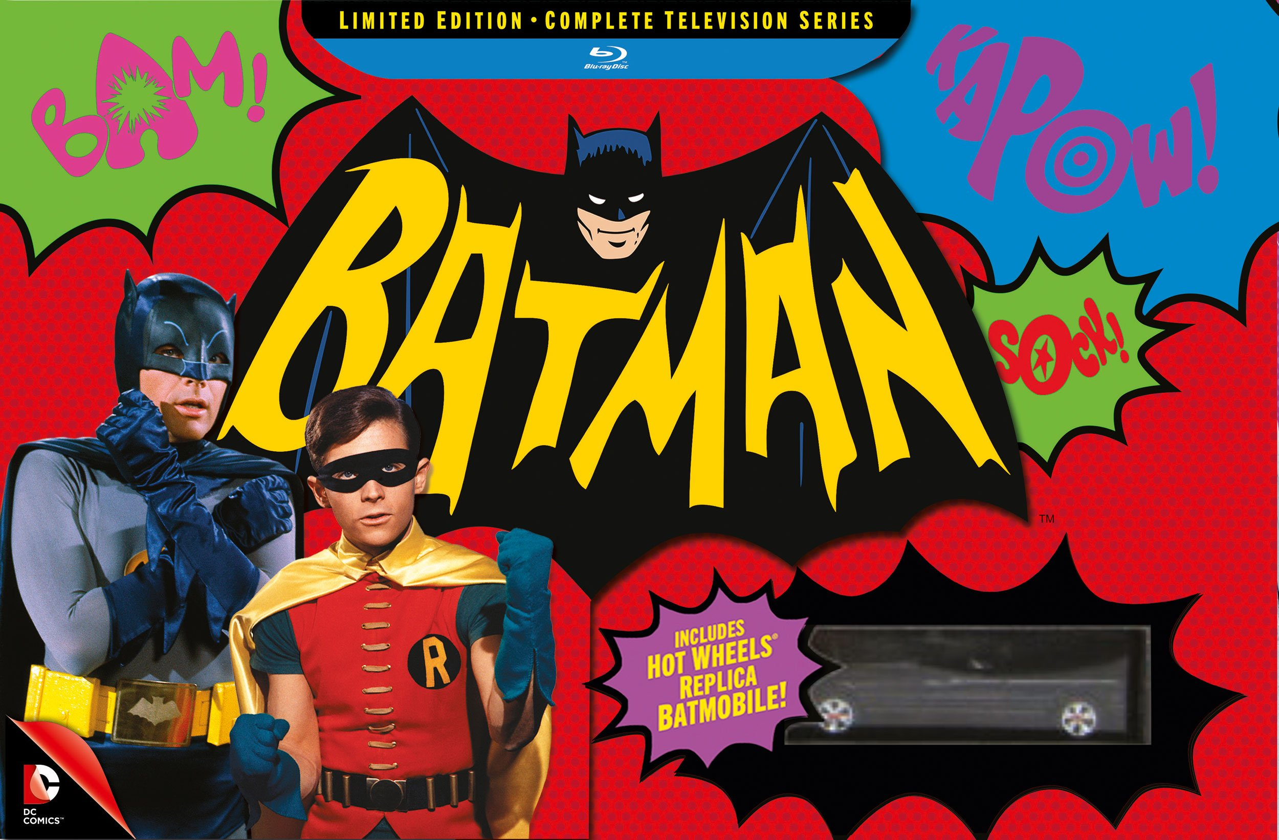 Batman: Complete Television Series Limited Edition Blu-Ray Boxset by