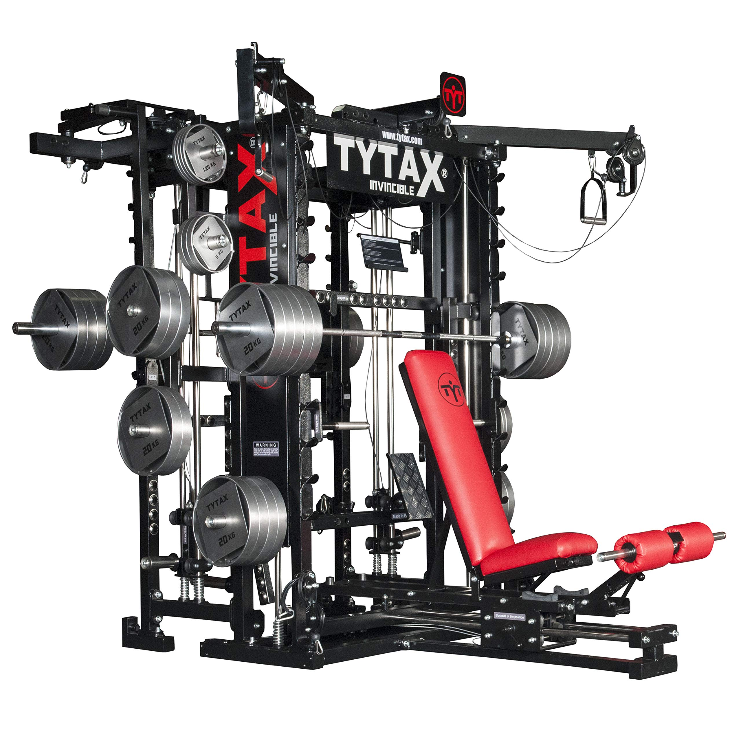 450 Exercises - T1-X - Professional Gym Equipment - Made in Europe …