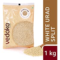 Amazon Brand - Vedaka Popular White Urad Split, 1 kg