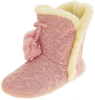 Femme Dunlop Point De Moelleux Bottes Yeti De Fourrure Douce Et Chaude Pantoufles Confortables Nordique - Julia Crème, 40,5-42 Eu