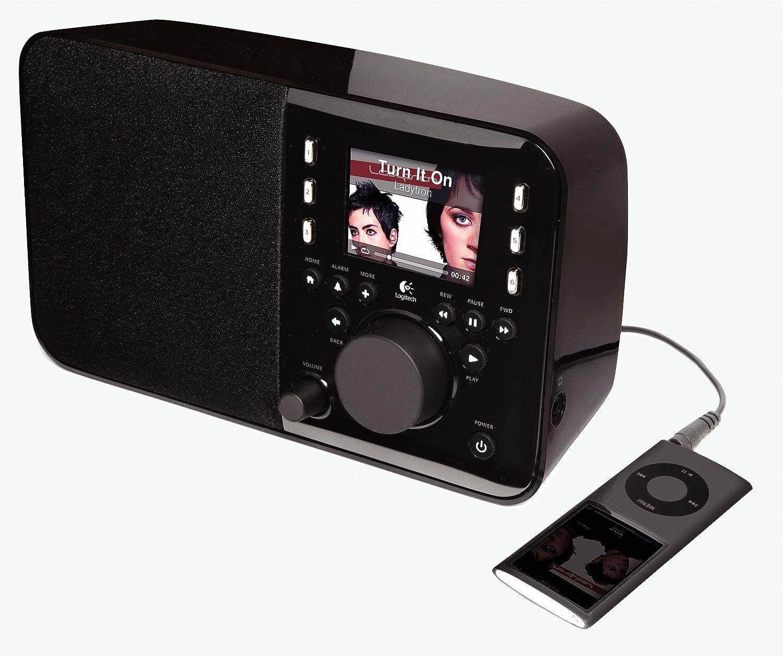 logitech squeezebox radio black discontinued by manufacturer rh amazon co uk Logitech Squeezebox Boom Manual Logitech Squeezebox Radio Power Adapter