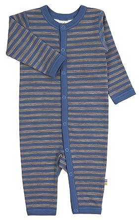 Joha - Pelele para dormir - Rayas - para bebé niño azul 56 cm