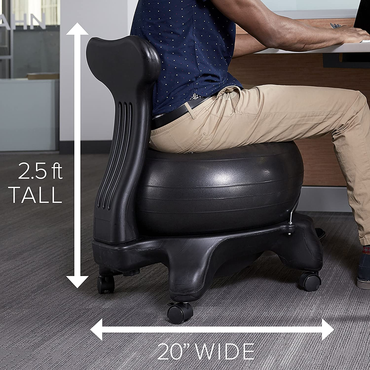 Stability Ball Desk Chair: Best Balance Ball Chairs For Tall People