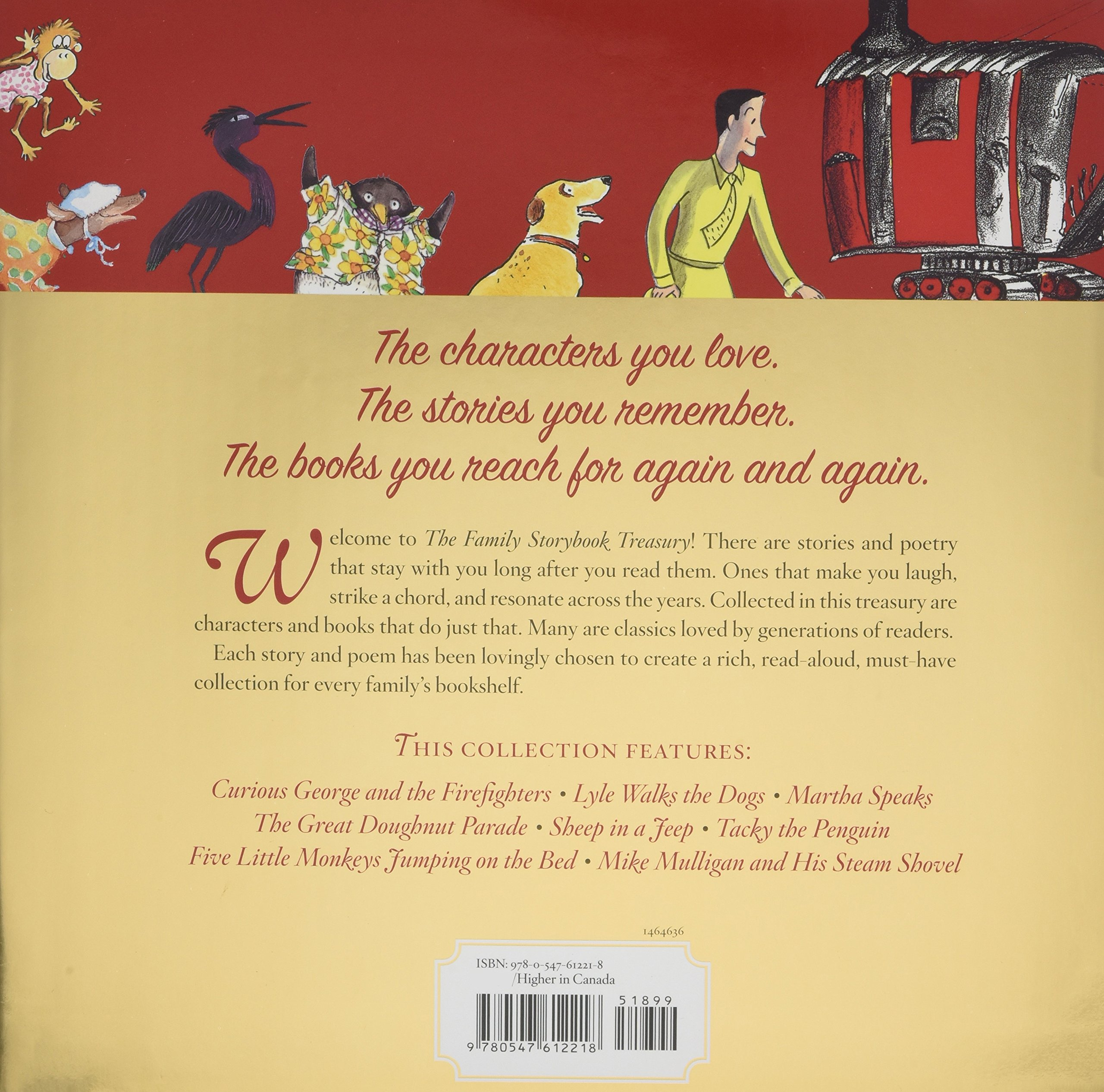 Amazon.com: Family Storybook Treasury with CD: Tales of Laughter,  Curiosity, and Fun (9780547612218): Rey and others: Books
