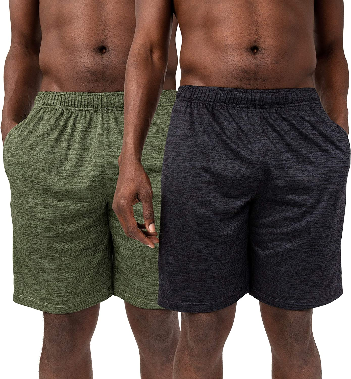Alive Men's Quick Dry Workout Knit Short