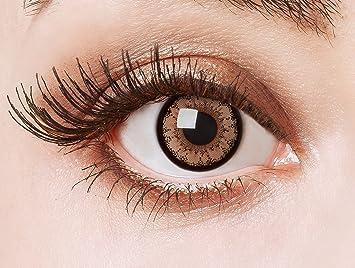 síndrome ingeniero Por qué no  aricona Kontaktlinsen - Lentes de contacto marrones de color sin dioptrías  - Lentes de contacto de color marrones puede utilizarse durante 12 meses, 2  piezas: Amazon.es: Salud y cuidado personal