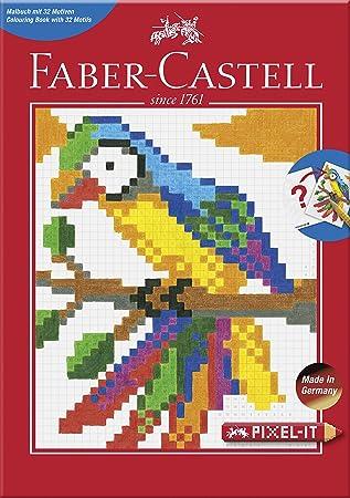 Faber Castell 201572 Pixel It Ausmalbuch Mit 32 Motiven 1 Stück