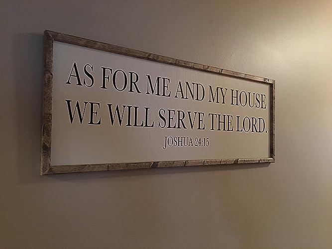 Scripture Wall Art, Scripture Sign, Christian Sign, Farmhouse Wood Sign  32u0026quot; X