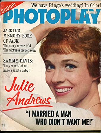 Photoplay Magazine May 1965- Julie Andrews- The Beatles
