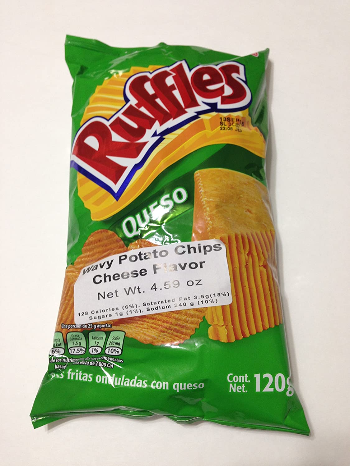 Sabritas Botanas Mexicanas (Ruffles Queso, Big): Amazon.com: Grocery & Gourmet Food