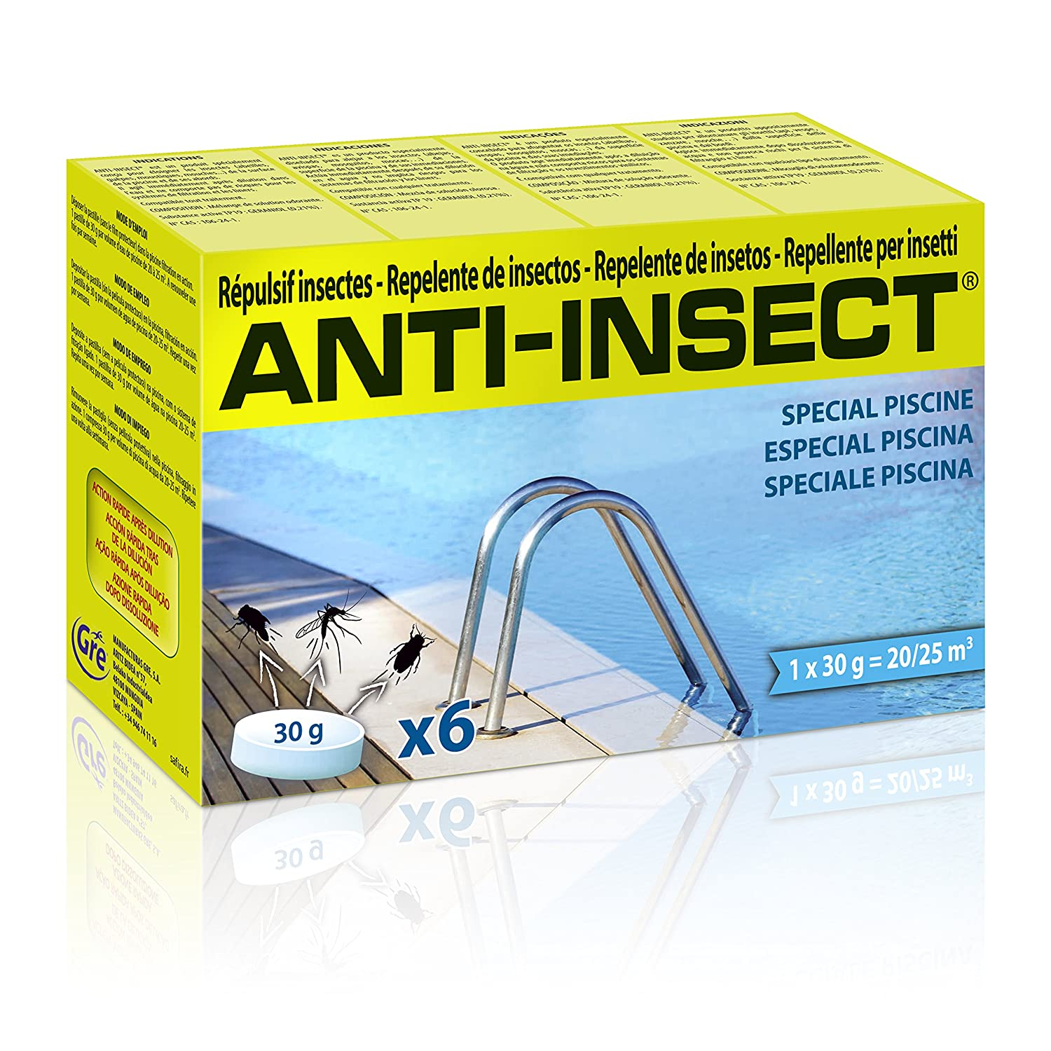 Anti Insect Refill 430275 Insect Repellent White