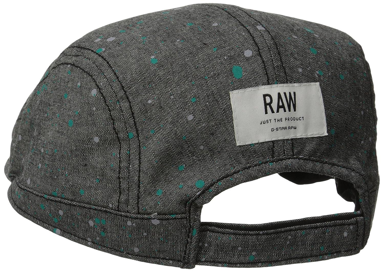 7ffec3956d3 G-Star Raw Men s Coban Flat Cap In Broken Chambray