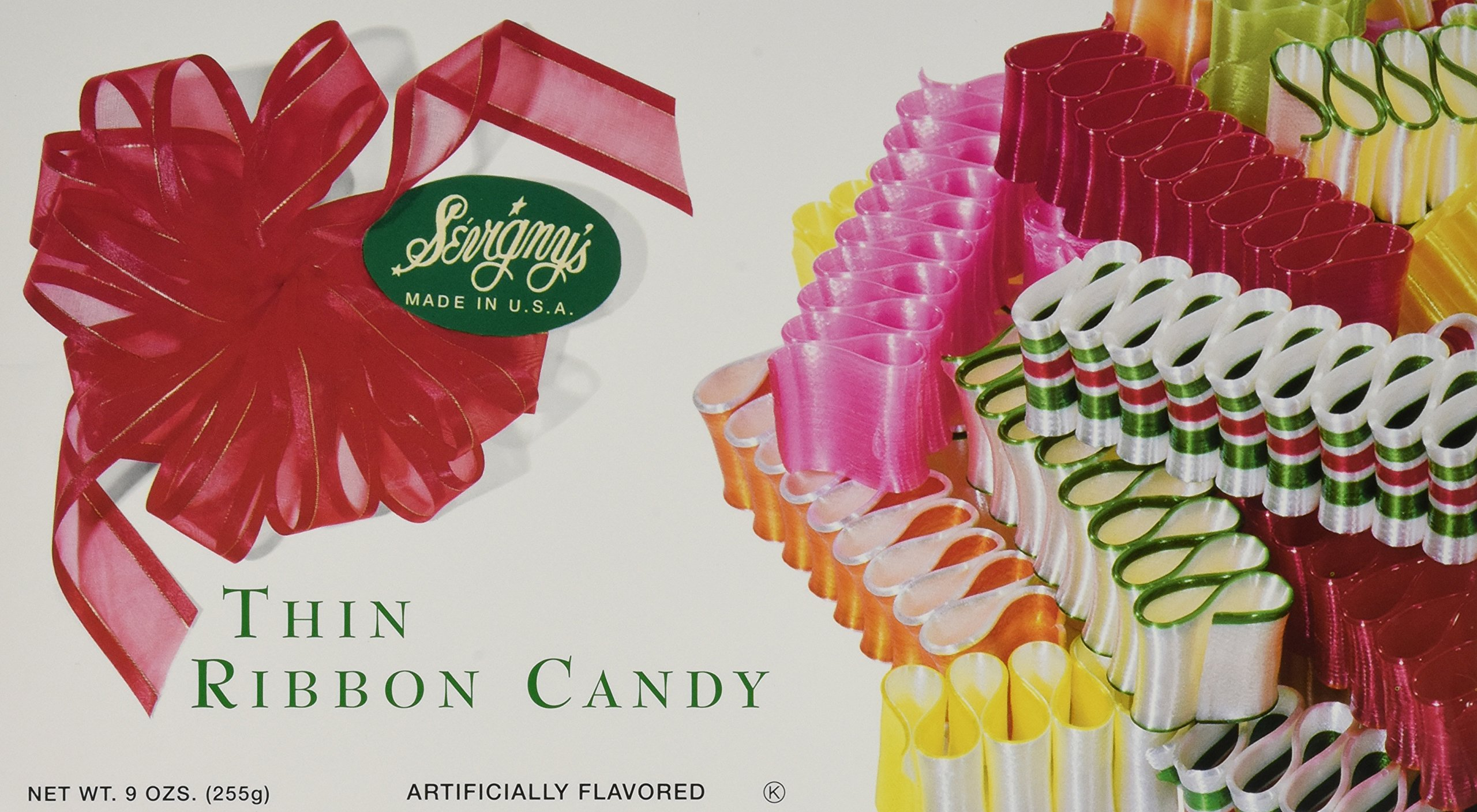 Sevignys Thin Ribbon Candy - Made in USA 9 Oz. (3 Pack) by Sevigny's