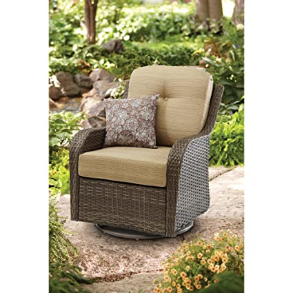 Superb Amazon Com Care 4 Home Llc Patio Swivel Wicker Rocking Gmtry Best Dining Table And Chair Ideas Images Gmtryco