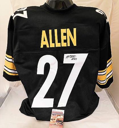 quality design 1c79e c4b72 Amazon.com: MARCUS ALLEN Signed/Autographed Pittsburgh ...