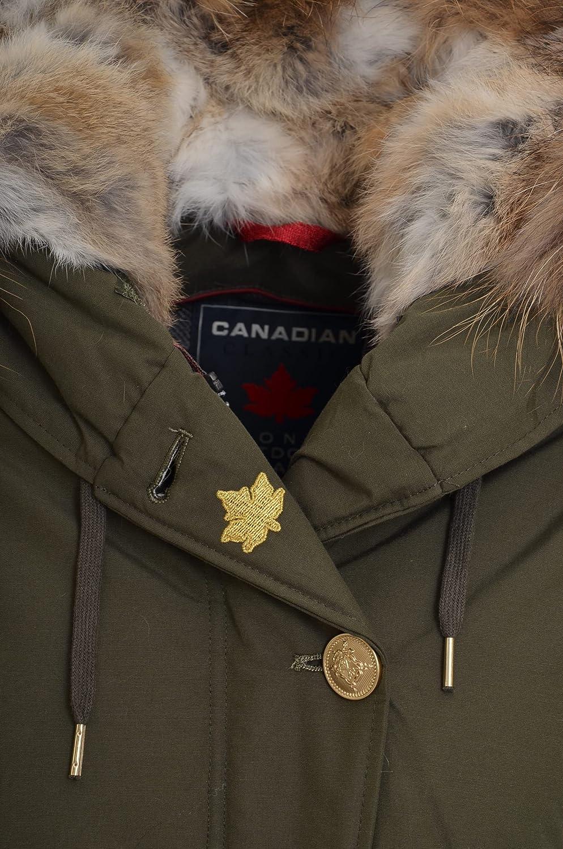 Canadian - Abrigo - para mujer verde oscuro 36 : Amazon.es: Ropa y accesorios