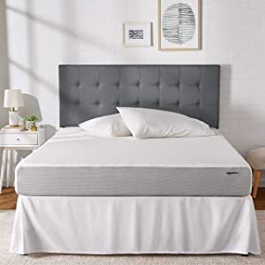 AmazonBasics Memory Foam Mattress - 8-Inch, Queen Size - Soft Bed, Plush Feel, CertiPUR-US Certified, Breathable, Easy Set-Up