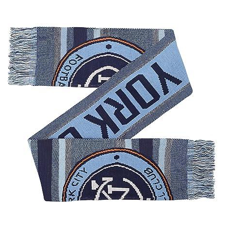 online retailer 19b5c c966c Outerstuff MLS Nycfc Youth Boys Fan Scarf, 1 Size, Bahia Blue