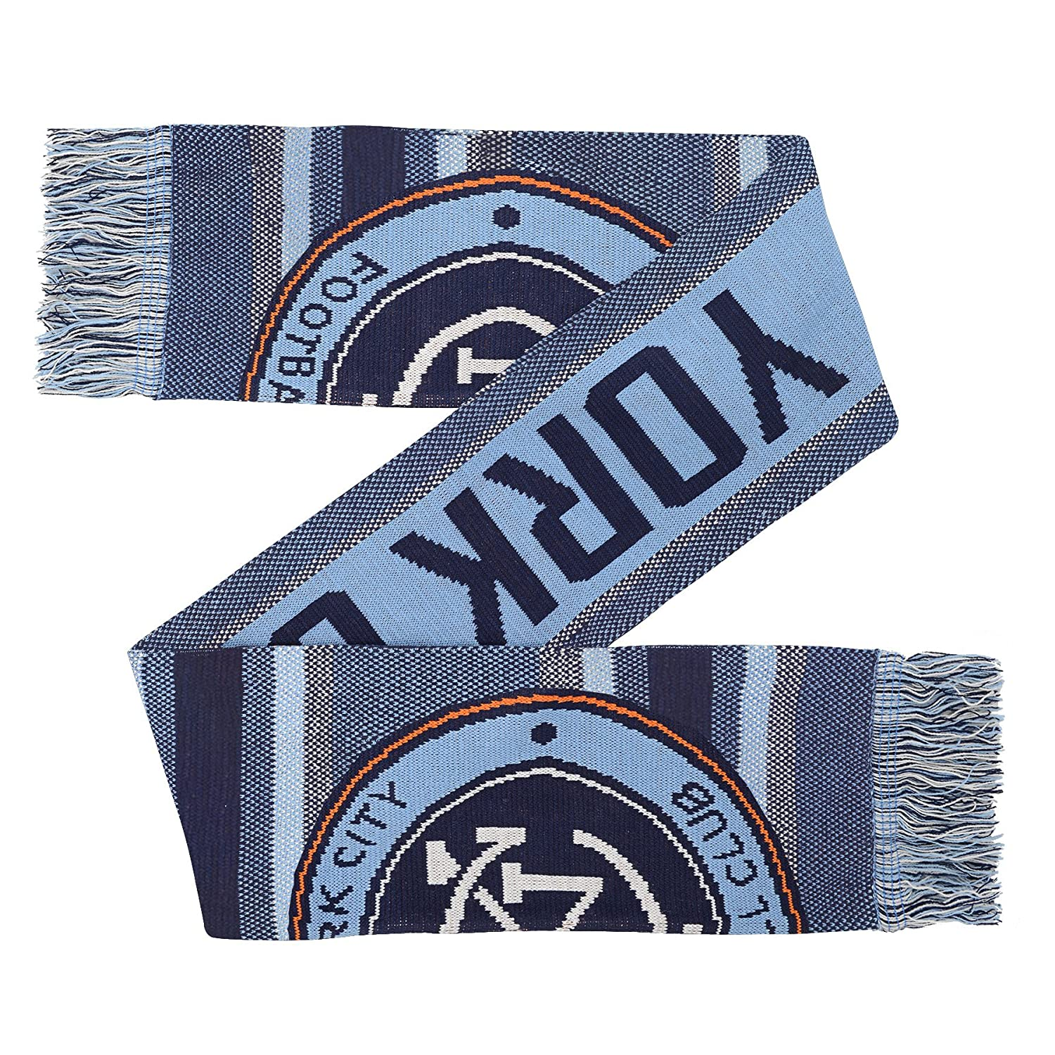 Youth One Size Team Color MLS NYCFC Youth Outerstuff Fan Scarf