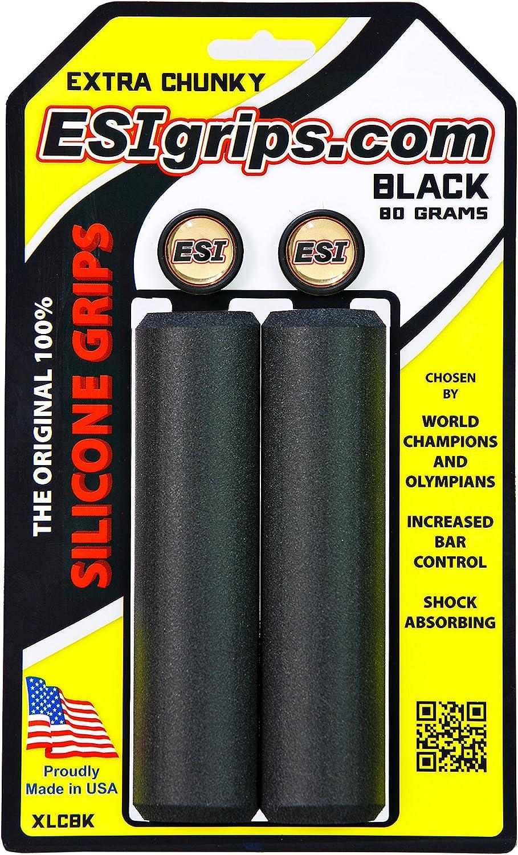 ESI Puños Extra Chunky Color Negro: Amazon.es: Deportes y aire libre