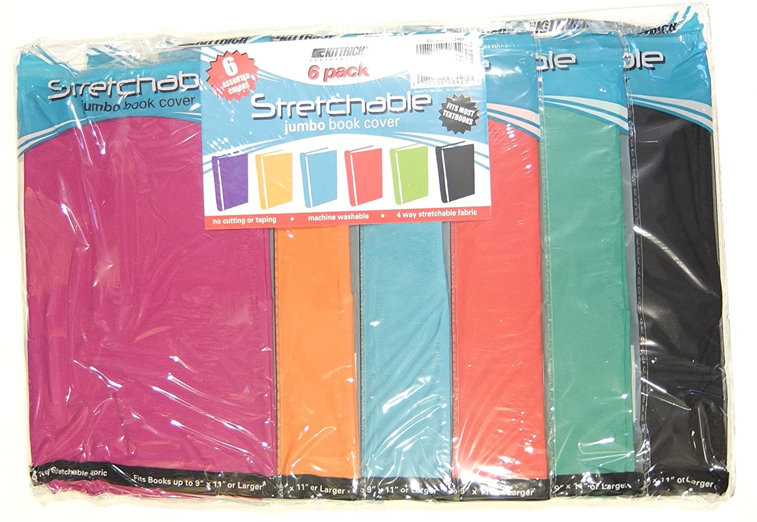 Book Cover Material Suppliers : Stretchable fabric jumbo size book cover assorted solid