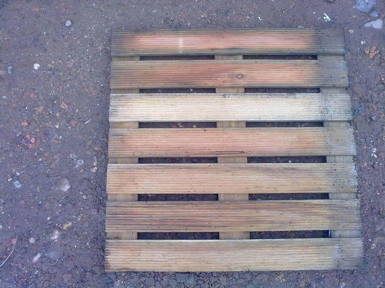 Cache poubelle simple en bois Natura Solid
