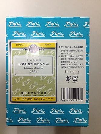 Amazon | L-酒石酸水素カリウム...