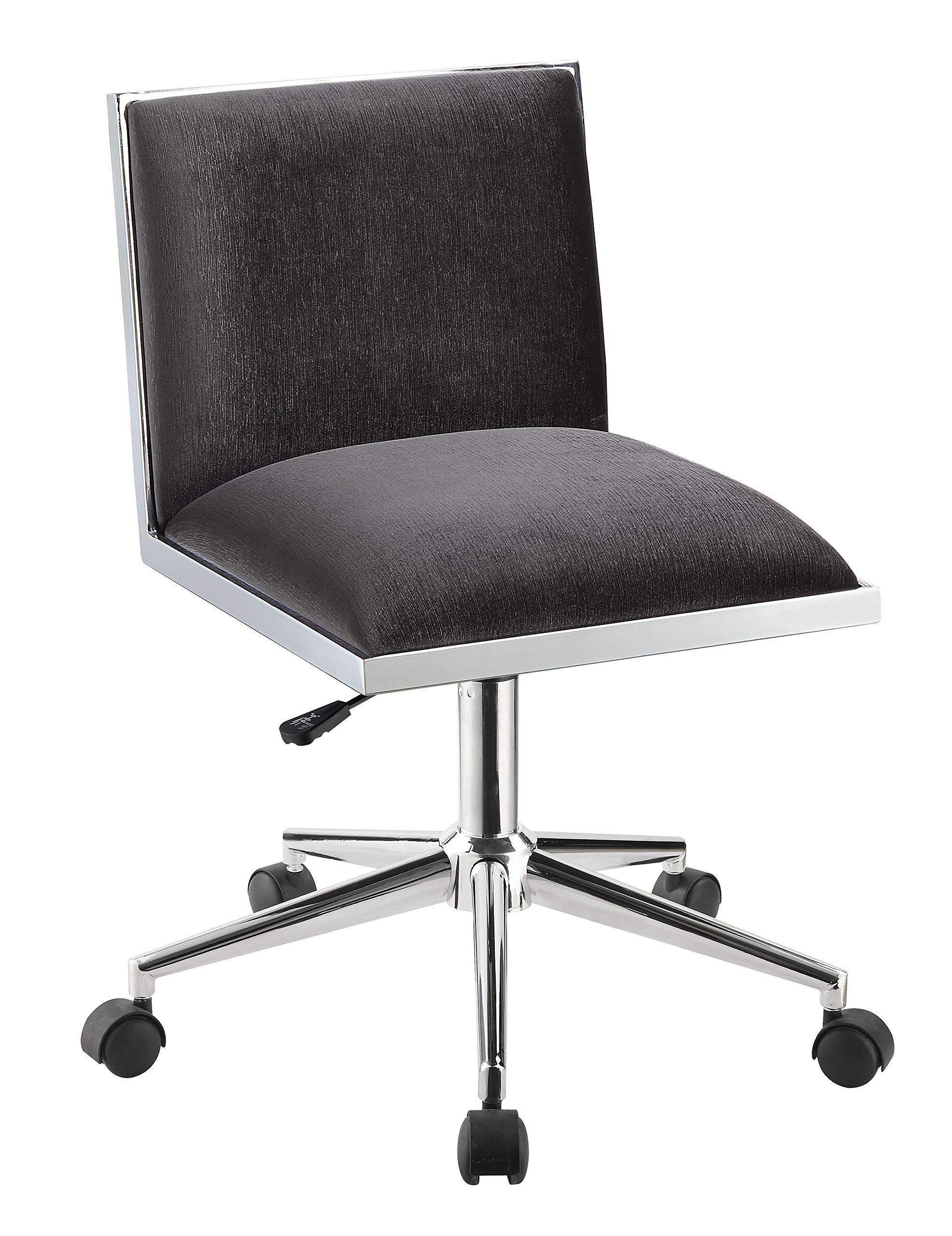 HOMES: Inside + Out IDF-FC655GY Violas Office Chair, Gray