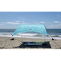 Neso Tents Grande Beach Tent, 2.1 m(7ft) Tall, 2.8m(9ft) x 2.8m(9ft), Reinforced Corners and Cooler Pocket