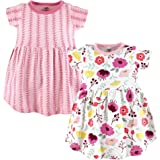 Touched by Nature Baby Girls Organic Cotton Dress, 2 Pack