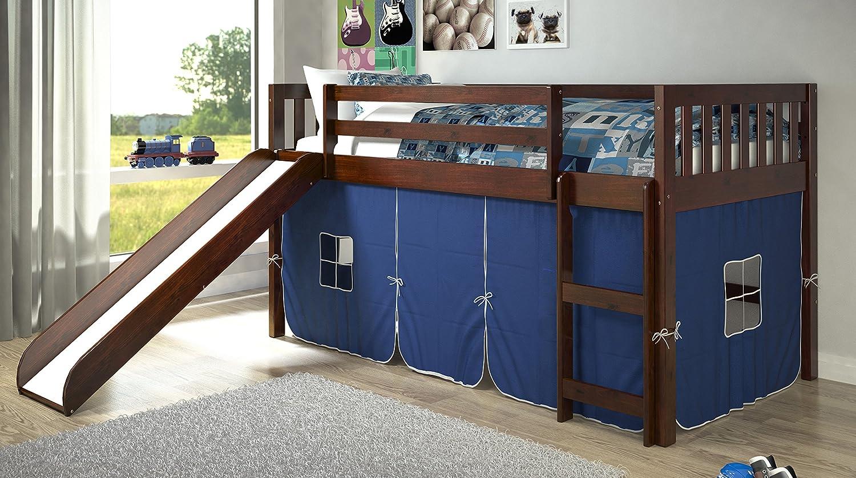 100 toddler bed with slide amazon amazon com million dollar