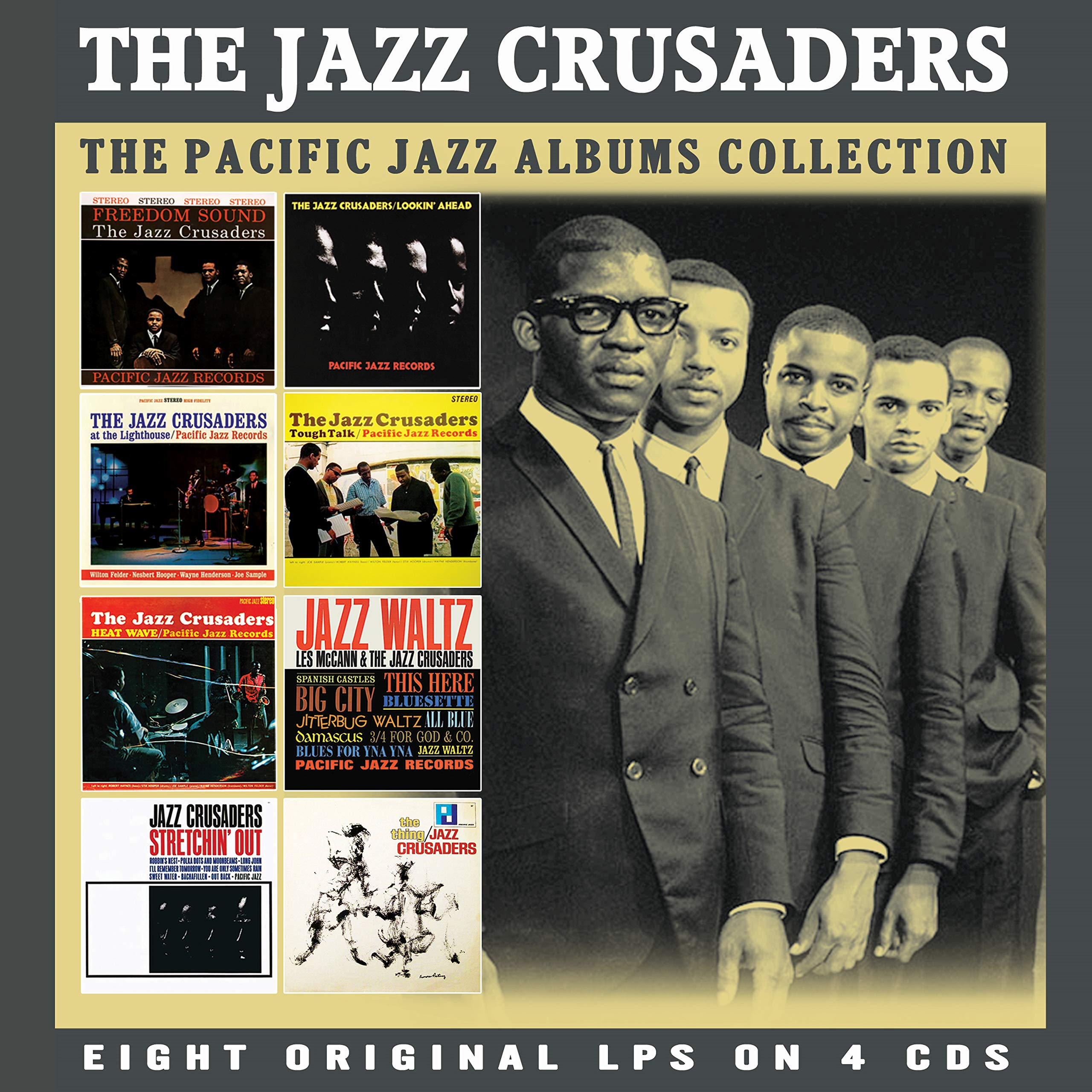CD : Jazz Crusaders - Classic Pacific Jazz Albums (CD)