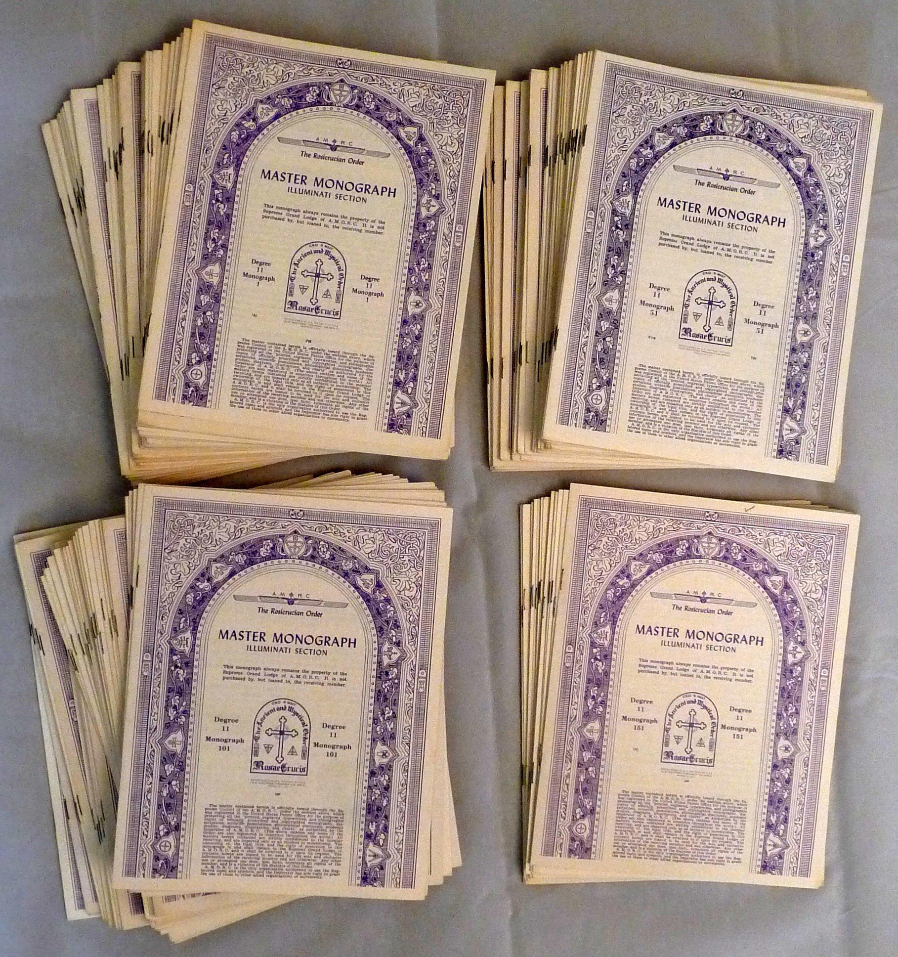 Amorc Monographs Pdf