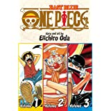 One Piece, Volumes 1-3: East Blue: Includes vols. 1, 2 & 3